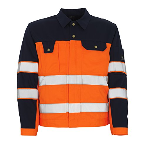 Mascot Como Jacke C68, orange/marine, 00909-860-141