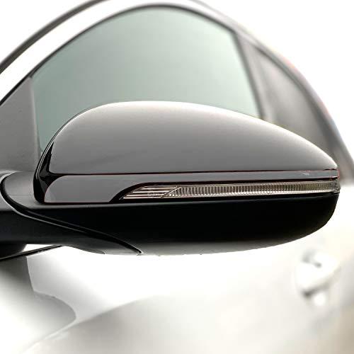 P057 - Pegatina para espejo retrovisor exterior de coche, diseño de rayas, Oracal 751C