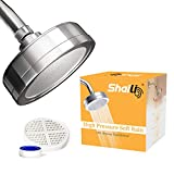 SHAILI Shower Head Filter for Hard Water - Removes Chlorine and Fluoride - Filtered Shower Head with Replacement Filter Cartridge - Water Purifier For Filtered Showers - Universal Shower System