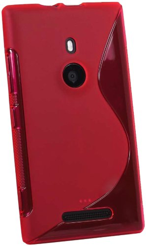 Katinkas Soft Cover for Nokia Lumia 925, Wave, Red