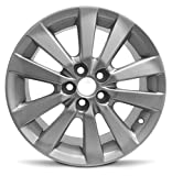 Road Ready Car Wheel for 2009-2010 Toyota Corolla 16 inch 5 Lug Silver Aluminum Rim Fits R16 Tire - Exact OEM Replacement - Full-Size Spare