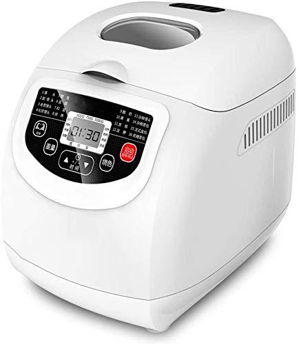 WJJ Panificadora 16 Funciones programadas Temporizador de retardo Y Mantener un Ambiente distendido, automática Fabricante de Pan automático Fastbake Breadmaker