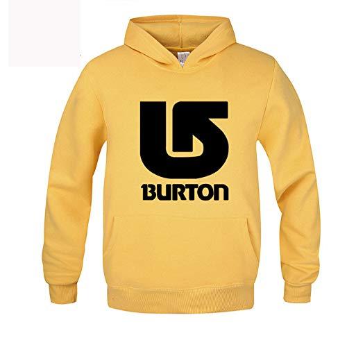Letra grande con capucha de tamaño delgado de impresión casual suéter de los hombres suéter de la chaqueta de ajuste - amarillo - X-Large