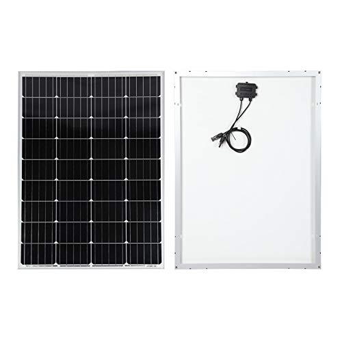 Solarmodul 100W für 12V Batterieladung Monokristallin Solarpanel für Solaranlagen