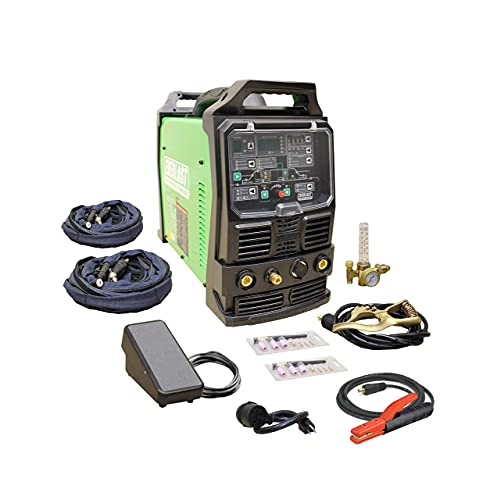 2021 Everlast PowerTIG 255EXT Digital AC/DC TIG Stick Pulse Inverter Welder 110v/220v Dual Voltage