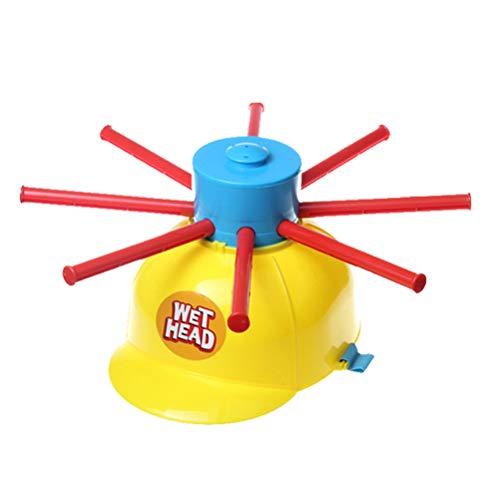 Schimer Nass Kopf-Party-Spiel, Mehrfarbig, Wasserspielzeug - Wet Head Wasserroulette, Nassen Hut Wasser Spiel lustige Roulette Streich Spielzeug für Familienfeier Urlaub