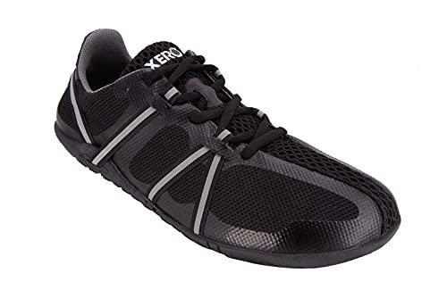 Xero Shoes Men's Speed Force Minimalist Running Shoe - Lightweight Comfort, Black, 11.5