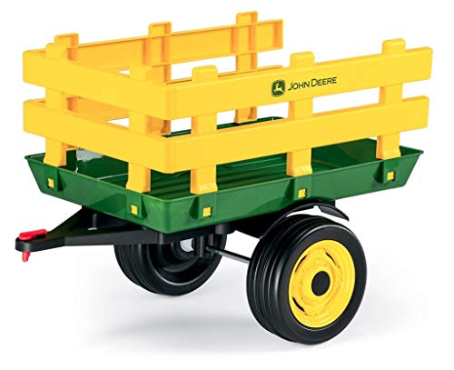Peg Perego Rimorchio a 2 Ruote, John Deere Stake-Side Trailer