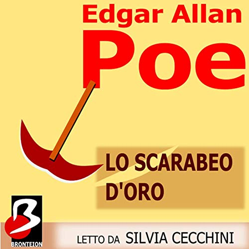 Lo Scarabeo D'Oro [The Gold-Bug] audiobook cover art