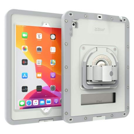 The Joy Factory - Full Protection - Ultra Rigid and Waterproof with Anti-Microbial Coating - Compatible with iPad 10.2