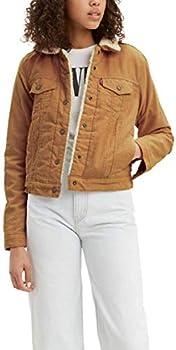 Levi's womens Original Sherpa Trucker Jackets