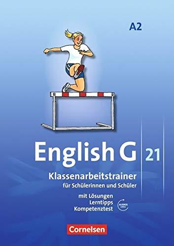 English G 21 - Ausgabe A / Band 2: 6. Schuljahr - Klassenarbeitstrainer ( Audios Lösungen online)