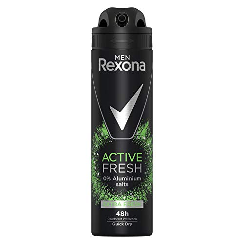 Rexona Men Deospray Active Fresh ohne Aluminium, 150 ml