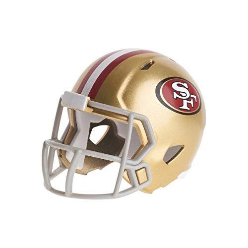 Riddell San Francisco 49ers Mini-Speed Pocket Pro Micro/Kamerahandys/Football Helm