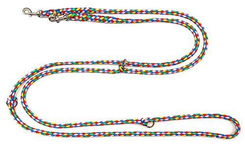 elropet Hundeleine f. kleine Hunde Doppelleine 2,80m 4fach verstellbar Sailing