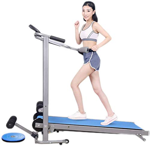 Multifunctionele mechanische loopband fitnesstoestellen Portable Gym Equipment Folding Running Jogging Wandelen