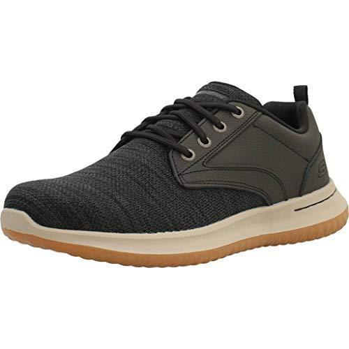 SKECHERS - Zapatos SKECHERS 65641-BLK Caballero Black - 47