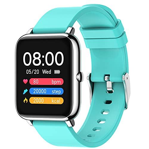 LHL P22 Smart Watch Ritmo Cardíaco Monitoreo De La Presión Arterial Llamada Mensaje Mensaje Hombres Y Mujeres Smartwatch Fitness Tracker (para Android iOS),B