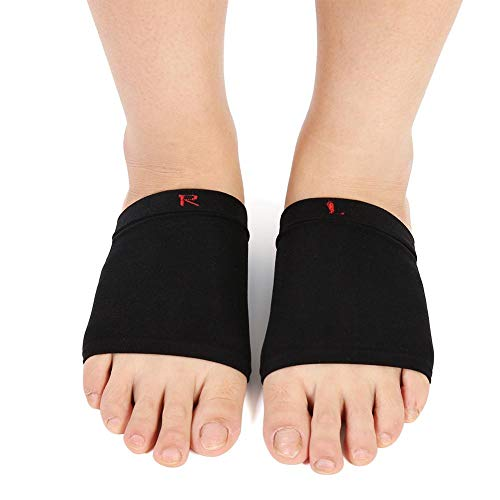 Gel Pads Orthesen Fuß Bogen Silikon Bogen Hülsen Verband Unterstützung Flatfoot Massage Orthesen mit Komfort Gel Kissen