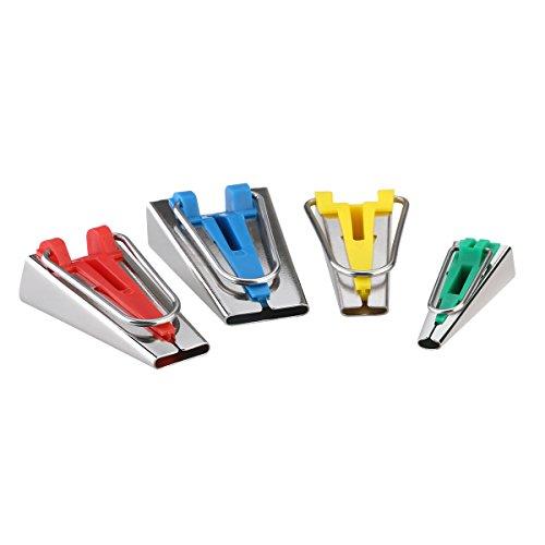 OUNONA - Set di 4 piega nastro in 6 mm, 12 mm, 18 mm, 25 mm