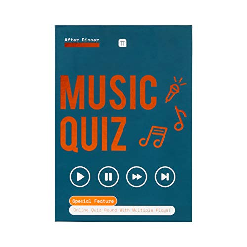 Talking Tables Music Triva Quiz Game - Including 100 Cards Fun for the family