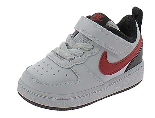 Nike Scarpe Sportive Court Borough Low 2 TDV BQ5453110 Bambino Bianche Bianco 26 EU