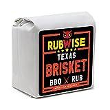 Texas Style Brisket BBQ Rub by RubWise   Smokey and Savory Bar-B-Que and Grill Blend   Great on Brisket, Steaks, Ribs & Burgers   Meat Seasoning & Spice Dry Rub   1lb