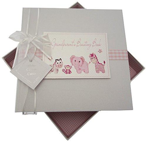 White Cotton Cards Toys Range S Boasting Book Medium Album Jouets (Rose)
