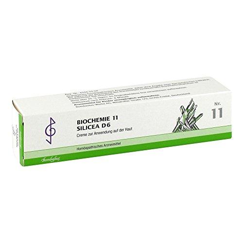 Bombastus Biochemie 11 Silicea D6 Creme, 100 ml