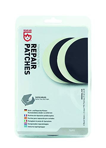 Gear Aid Herren Tenacious Tape Kleben, Weiß, x4 Per Pack EU
