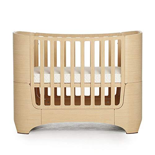 VBARV 4-in-1-Babybett, höhenverstellbares Kinderspielbett, multifunktionales Wickelbett für 0-12 Jahre, feststehendes Seitenbett, Massivholzkonstruktion aus Kiefernholz. Kinderzimmermöbel