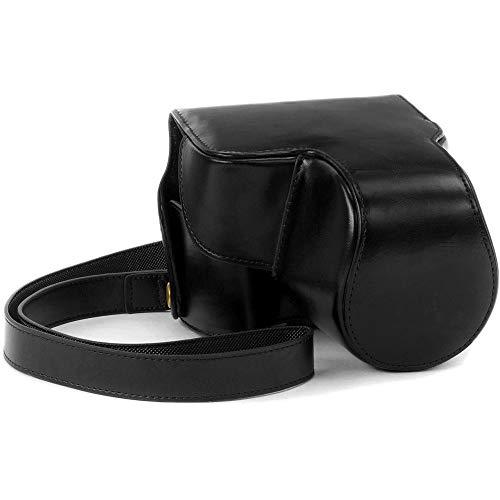 MegaGear Ever Ready Leather Camera Case for Nikon COOLPIX B700 (Black) [並行輸入品]