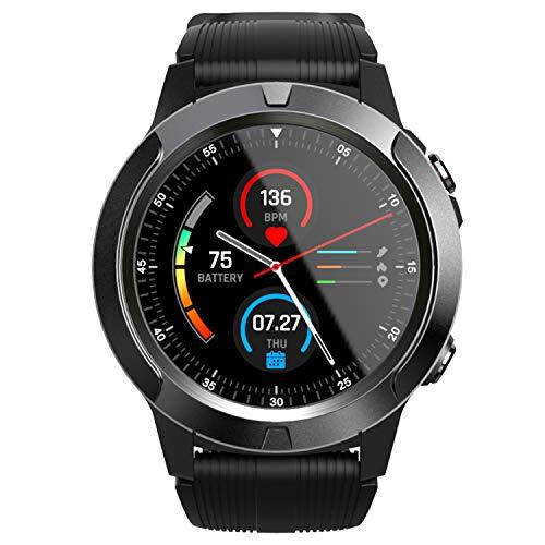 Docooler SMA-TK04 Reloj Inteligente Pantalla de 1.3 Pulgadas BT3.0 4.0 Podómetro a Prueba de Agua Alarma de Ritmo cardíaco Cámara remota Reloj Inteligente para Android 4.4 / iOS 8.0 y Superior