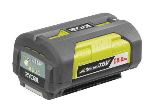 Ryobi BPL3650 Batterie Rechargeable Lithium-ION (Li-ION) 500 mAh 36 V - Batteries Rechargeables (500 mAh, Lithium-ION (Li-ION), 36 V, Noir, Jaune, 1 pièce(s))