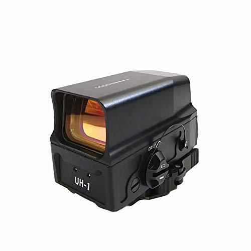 FIRECLUB UH-1 Sight Holographic Sight EBR-CQB Reticle USB Charge for 20mm Mount Hunting Rifle