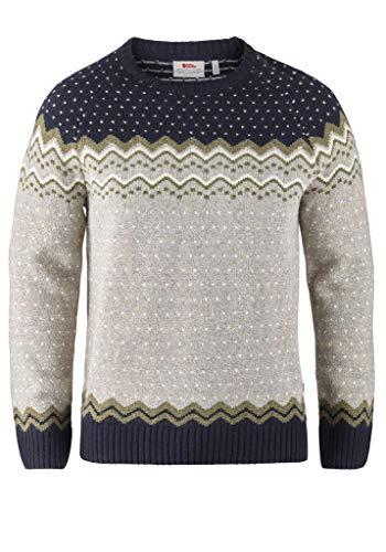 Fjallraven Men's Ovik Knit Sweater - Navy - S