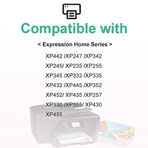 Teland 29XL - Cartuchos de tinta para Epson Expression Home XP-342, XP-245, XP-442, XP-235, XP-335 XP-432, XP-345 y XP-430 XP-445 (4 negro, 2 cian, 2 amarillo)