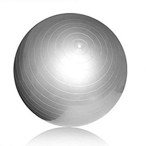 SUNTIRC Pelota de ejercicio, soportes de pelota de gimnasia de 65 cm, pelota de yoga con bomba de aire, equilibrio de yoga, pelota suiza para Pilates, ejercicio físico, entrenamiento, fuerza central