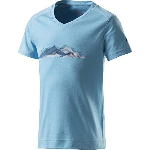 McKINLEY T- Shirt Ziya, Blue Light, 140 Enfant Unisexe
