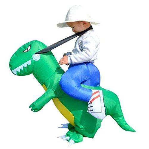 LOVIVER Dinosaurio Inflable Montando Pequeños Disfraces De Halloween