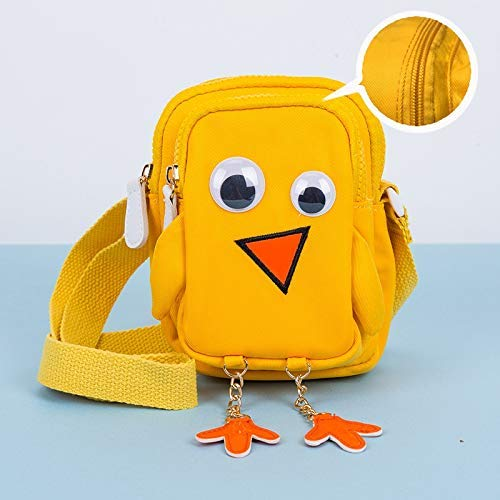 ZFSWMY I Bambini Messenger Bag Carto onCute Outing all'aperto Bambino Animale Coin Purse Mobile Phone Bag 18x13x8cm (Colore: E) (Color : E)