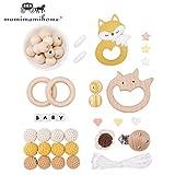 Mamimami Home DIY Baby Zahnen Spielzeug Silikon Krankenpflege Halskette Häkelnde Perlen Armband...