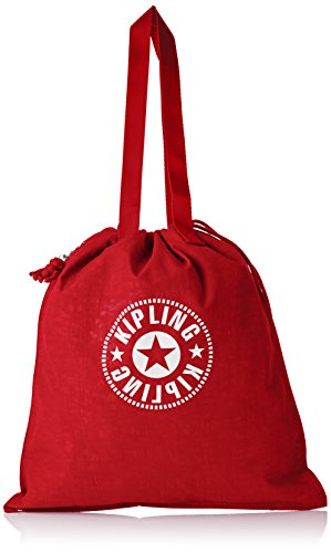 Kipling New Hiphurray Womens Tote Red Lively Red 1x4x445 cm B x H T