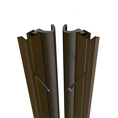 Stormguard Aquacarrier Qlon Around Door Seal Durable Draught Excluder Weather Proofing Strip External. 5 x 1050mm Lengths (Brown)