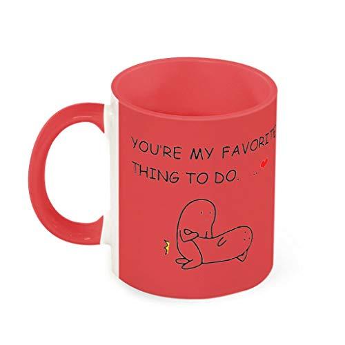 NC83 11 Oz Du bist Meine Lieblingskontung Koffiemok, porselein, Humor, beker, mok, grappig huwelijkscadeau, klassiekeramiek, cadeau (aan beide zijden bedrukken)