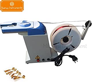 Huanyu Auto Twist Tie Machine Bread Candy Gift Bundling Tying Bagging Strapping Closure Machine (220V)