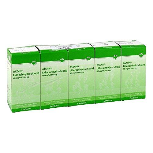 ACOIN-Lidocainhydrochlorid 40 mg/ml Lösung 5X50 ml