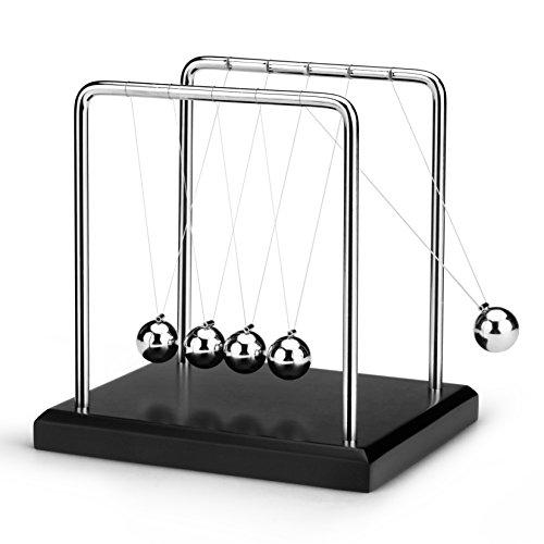 ScienceGeek Classic Newton's Cradle Balance Balls Desk Toy Home Decoration