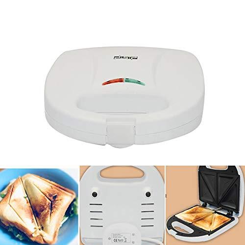 HONGFAN Sandwichera, Tostadora Máquina De Desayuno Portátil Recubrimiento Antiadherente De Calentamiento Rápido