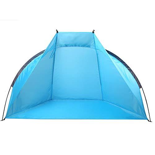 Datee Tenda da Campeggio all'aperto Tenda da Sole da Spiaggia Tenda da Campeggio Antivento Tenda da Giardino per Riparo dal Mare
